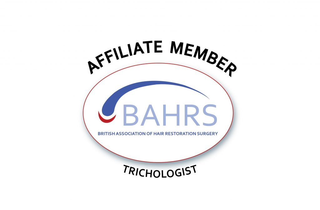 Affiliate trichologist member British Association of hair restoration surgeons