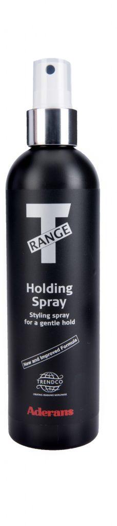 T range holding spray