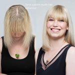 Semi custom made hair enhancer