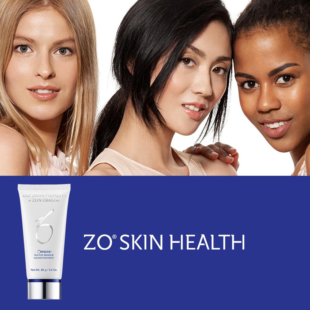 ZO Sulfur Masque for oily acne prone skin