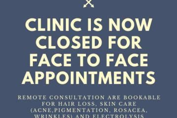 Clinic closed Cov-19