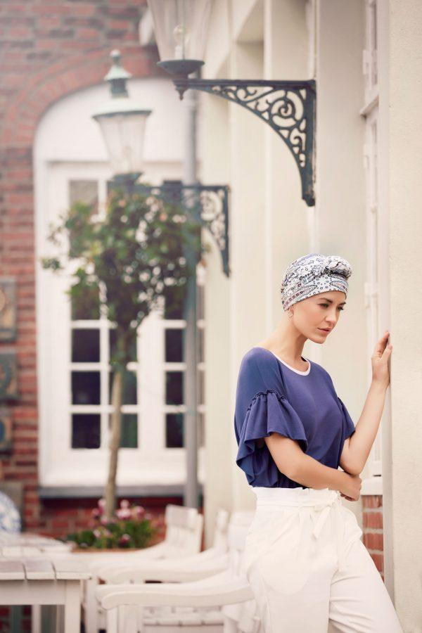Mantra head scarf
