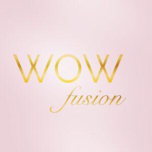 WOW fusion pink logo